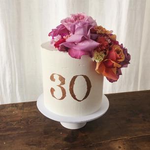 Birthday cake - 30