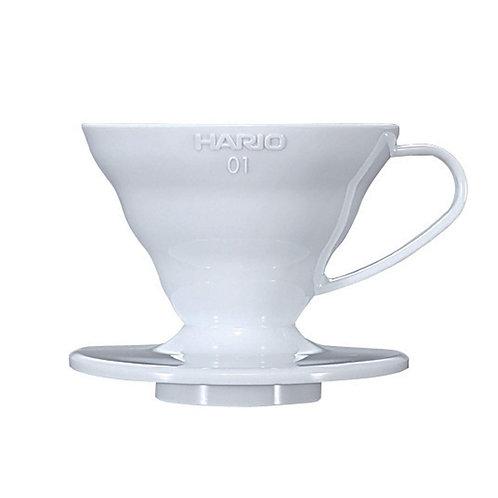 Hario V60 Plastic Dripper 01 White