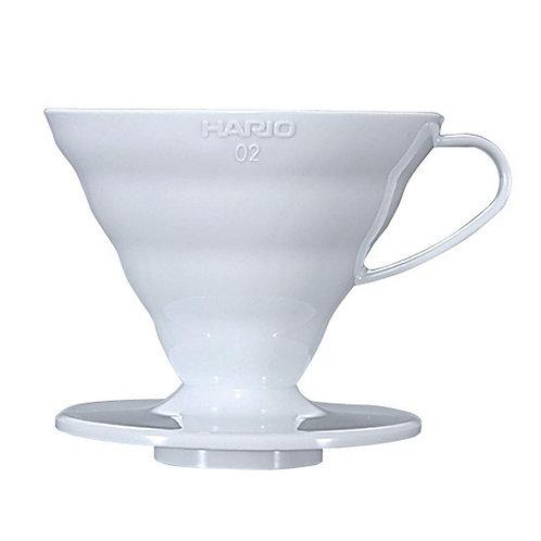 Hario V60 Plastic Dripper 02 White