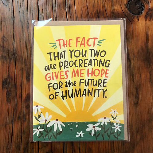 Hope for Humanity Card