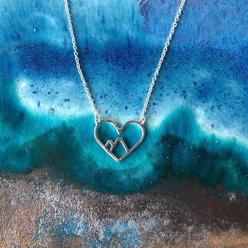 Rocky Romance Necklace - Silver