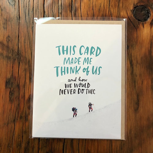 Thinking of Us Card