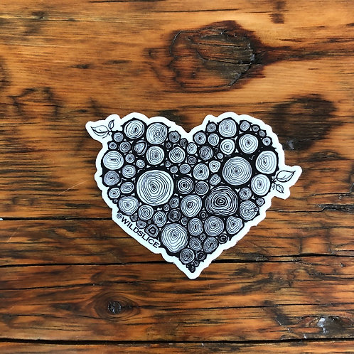 Wild Heart Sticker