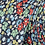 Thumbnail: Blue floral silk tie
