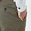 Thumbnail: Khaki Cotton Wool Stretch Slim Fit Clay Rondo Chinos
