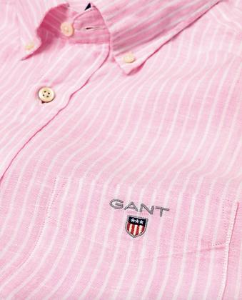 Regular Fit Linen Banker Shirt