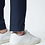 Thumbnail: Navy Cotton Wool Stretch Slim Fit Clay Rondo Chinos
