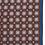Thumbnail: Brown geometric silk pocket square