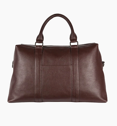 Leather Overnight Bags. Cabin Size
