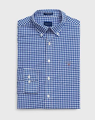 Regular Fit Gingham Broadcloth Shirt