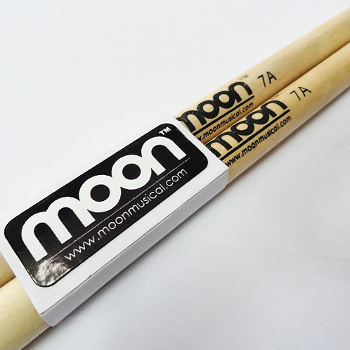 Baquetas Moon 7A punta madera