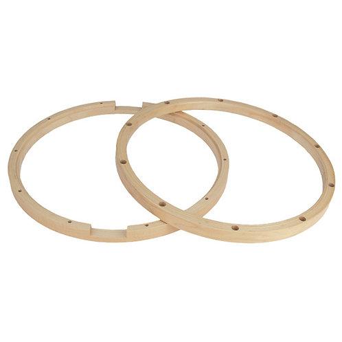 Aros de madera para caja(par)