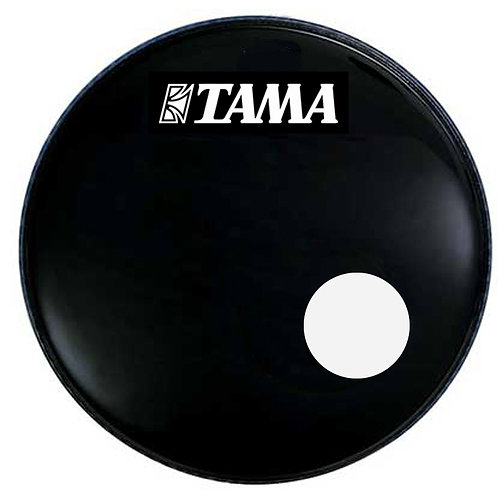 "Parche Frontal 22"" Tama c/HOLZ negro 6"""