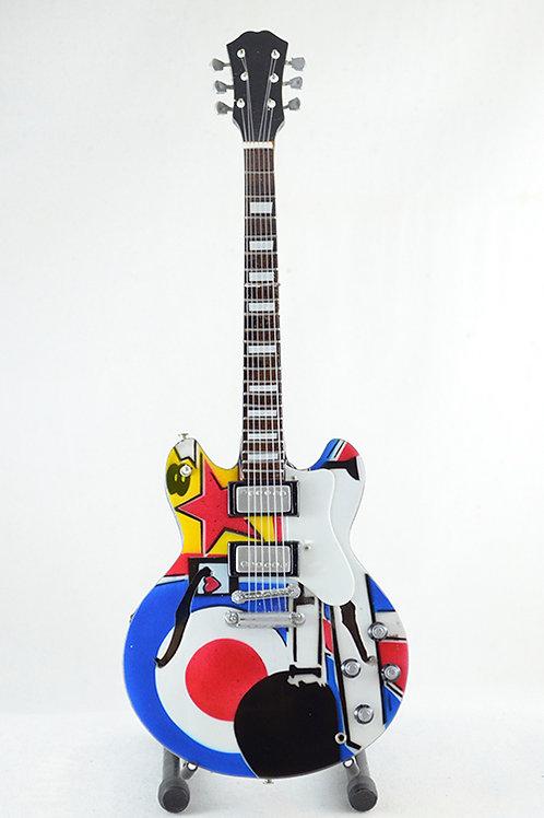 Guitarra Miniatura The Who