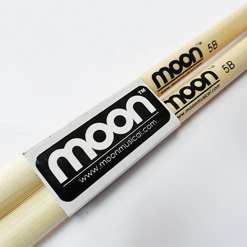 Baquetas Moon 5B punta madera