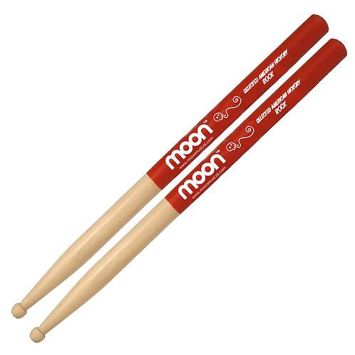 Baquetas ROCK Grip Rojo American Hickory® Moon