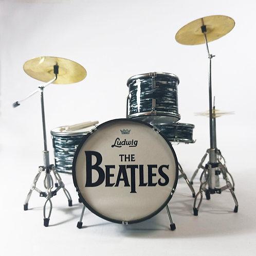 Batería Miniatura The Beatles