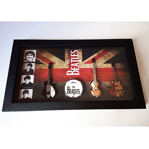 Diorama The Beatles (Flag)