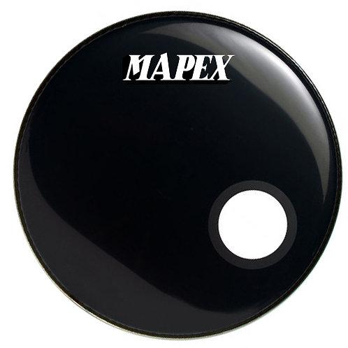 """parche frontal 22"""" Mapex c/HOLZ negro 6"""""""