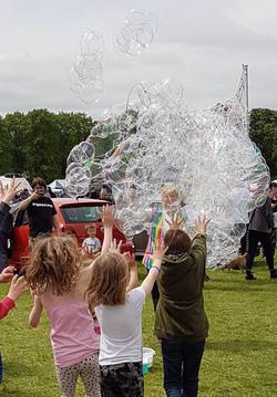 Foamy Bubble Fun