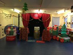 Christmas Show Set up