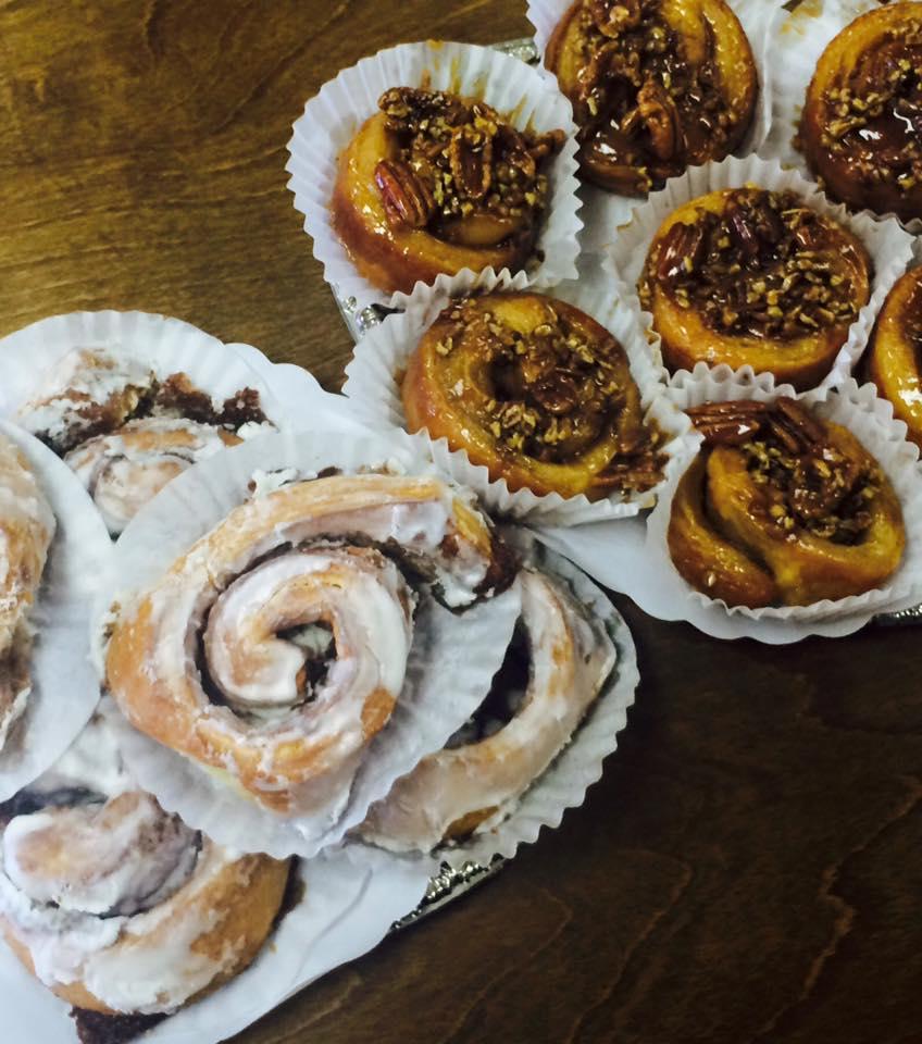 Cinnamon Rolls and Sticky Buns