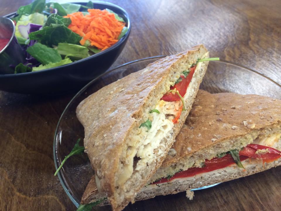 Salad & Poulet et Brie
