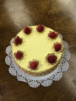 Mango Buttercream on Yellow Cake