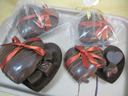 Chocolate Heart Boxes