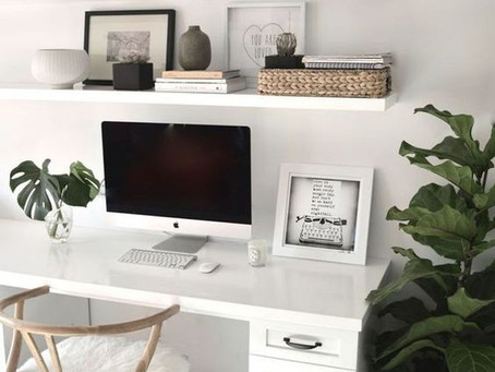 ¿Sabes como diseñar tu home office?