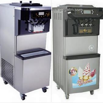 เครื่องทำไอศครีม Si Series แท้ VS เทียม