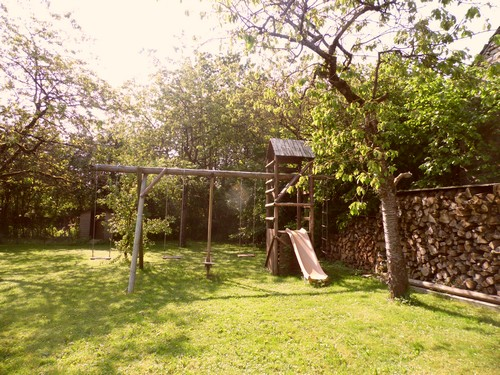 jardin clôturé