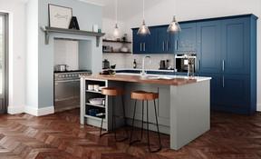 Victoria Stone & Parsian Blue
