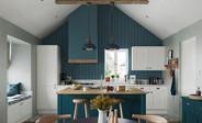 Corniche Blue, White & Oak
