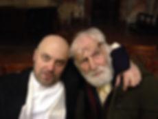 Pierfranco col Maestro Bernardi il 5Dic2013 in San Marco