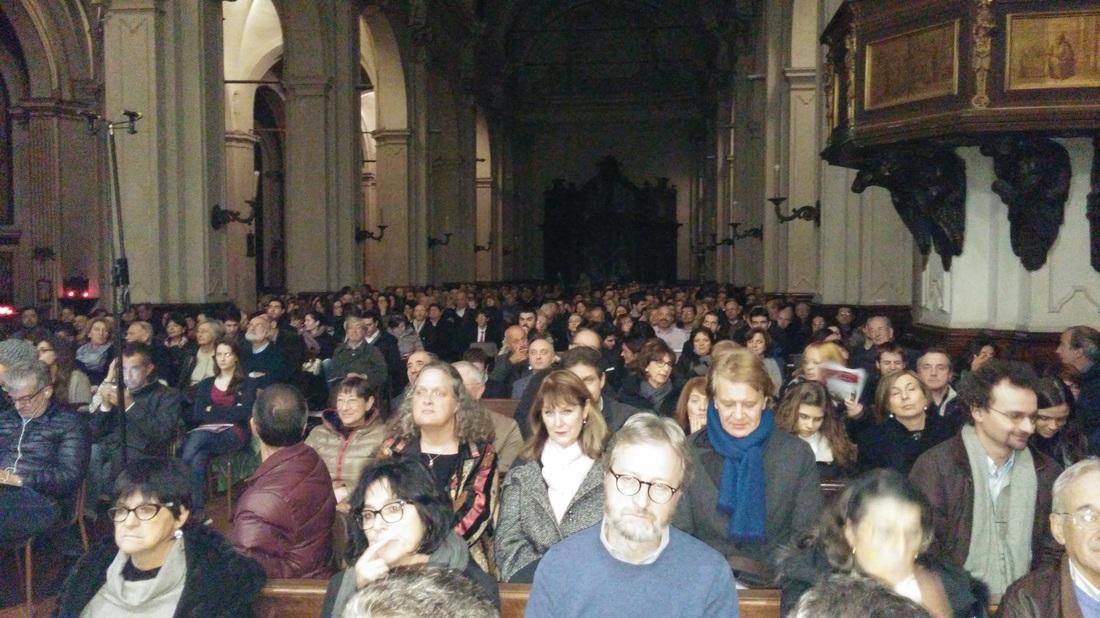 Pubblico al Requiem 2014 San Marco