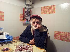 """Francuccio"" nel cucina di Aldo Bernardinel 2013"