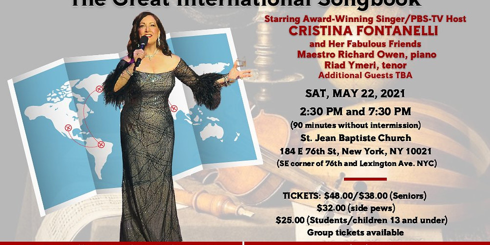 2:30 PM - The Great International Songbook