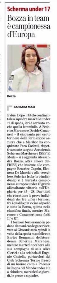 Barbara Masi. La Stampa 01-03-2015.jpg