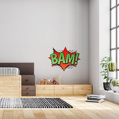 Cartoon BAM! - Vinil Decorativo