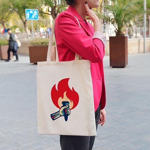 Propaganda Flame - Tote Bag