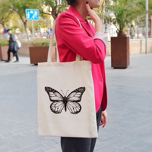 Bug Collection Butterfly  - Tote Bag