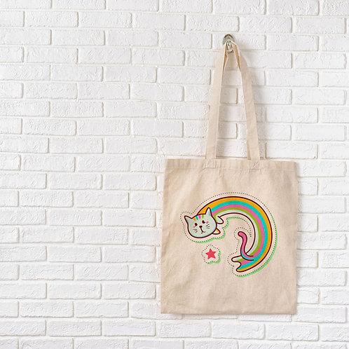 Raibow Cat - Tote Bag
