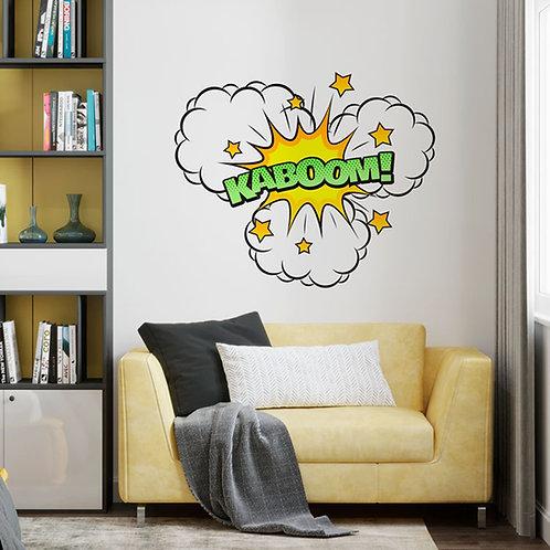 Cartoon KABOOM! - Vinil Decorativo