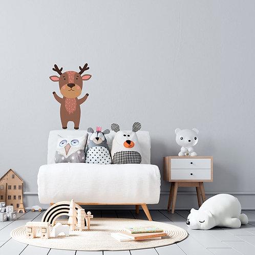 Ilustrações de animais infantis - Vinil Decorativo