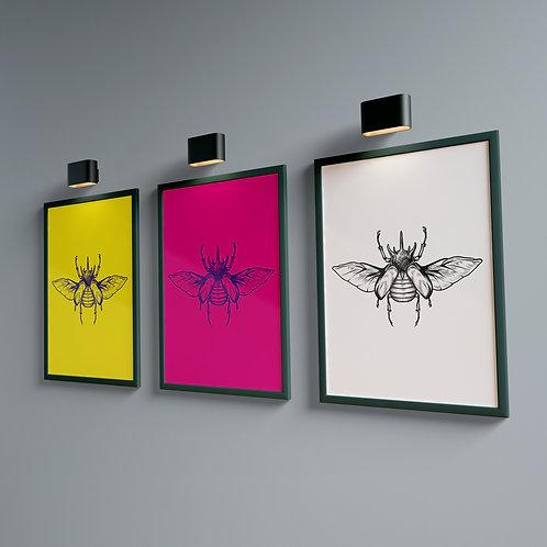 Beetle Amarelo - Bug Collection