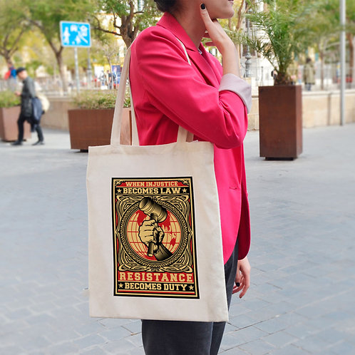 Resistance Becomes Duty - Tote Bag