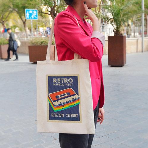 Retro Music Fest - Tote Bag