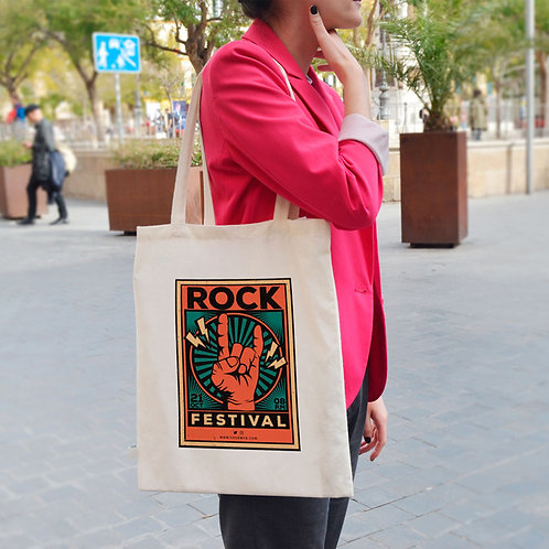 Rock Festival - Tote Bag