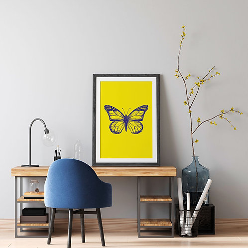 Butterfly Amarelo - Bug Collection